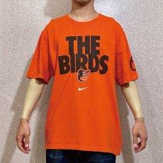 画像11: 「NIKE(ナイキ)」MLB ボルチモア・オリオールズ O's THE BIRDS オレンジ Tシャツ (11)