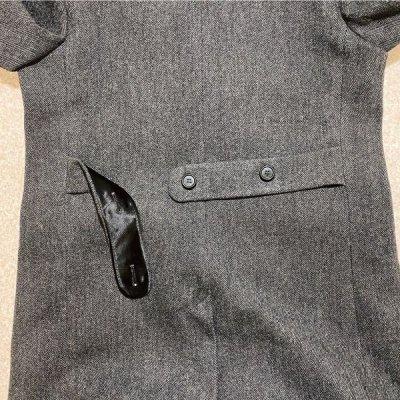 画像2: 「Brooks Brothers(ブルックスブラザーズ)」USA製 ヘリンボーン ロング チェスターコート【送料無料】