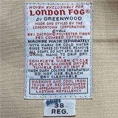 画像8: 「London Fog(ロンドンフォグ)」脱着式ライナー 30REG USA製 70s 80s トレンチコート【送料無料】 (8)