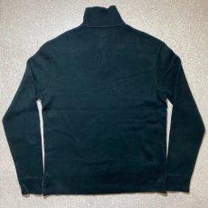 画像10: 「Polo RALPH LAUREN(ポロ ラルフローレン)」ポニー刺繍 ハーフジップ ブラック ニット (10)