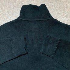 画像11: 「Polo RALPH LAUREN(ポロ ラルフローレン)」ポニー刺繍 ハーフジップ ブラック ニット (11)