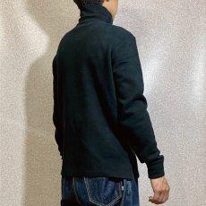 画像18: 「Polo RALPH LAUREN(ポロ ラルフローレン)」ポニー刺繍 ハーフジップ ブラック ニット (18)