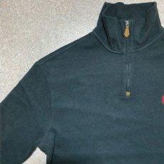 画像2: 「Polo RALPH LAUREN(ポロ ラルフローレン)」ポニー刺繍 ハーフジップ ブラック ニット (2)