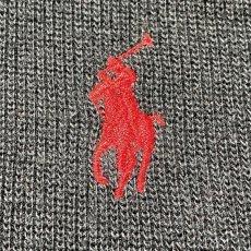 画像5: 「Polo RALPH LAUREN(ポロ ラルフローレン)」ポニー刺繍 ハーフジップ ブラック ニット (5)