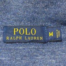画像7: 「POLO RALPH LAUREN(ポロ ラルフローレン)」ポニー刺繍 ハーフジップ ネイビー ニット (7)
