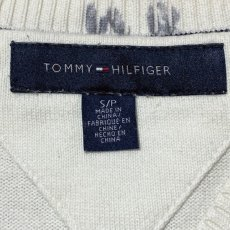 画像6: 「Tommy Hilfiger(トミーヒルフィガー)」アーガイル柄 Vネック ニット (6)