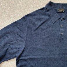 画像2: 「Brooks Brothers(ブルックスブラザーズ)」3ボタン 長袖ニットポロシャツ (2)