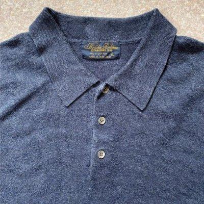 画像2: 「Brooks Brothers(ブルックスブラザーズ)」3ボタン 長袖ニットポロシャツ