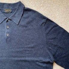 画像4: 「Brooks Brothers(ブルックスブラザーズ)」3ボタン 長袖ニットポロシャツ (4)