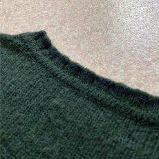 画像15: 「Polo RALPH LAUREN(ポロ ラルフローレン)」ポニー刺繍 Vネック ダークグリーン ニット (15)