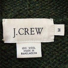 画像5: 「J.Crew(J.クルー)」ウール  ラグランスリーブ オリーブ ロールネック ニット (5)