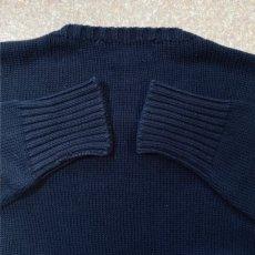 画像10: 「Polo RALPH LAUREN(ポロ ラルフローレン)」ポニー刺繍 クルーネック ネイビー ニット (10)