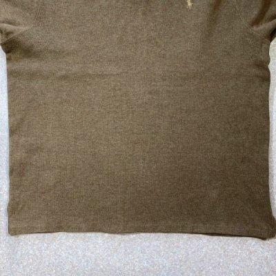 画像3: 「Polo RALPH LAUREN(ポロ ラルフローレン)」ポニー刺繍 ハーフジップ キャメル ニット