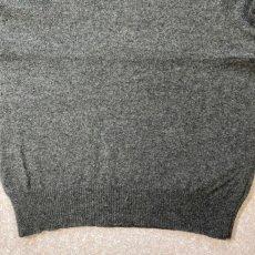 画像8: 「Polo RALPH LAUREN(ポロ ラルフローレン)」ポニー刺繍 Vネック チャコール ニット (8)