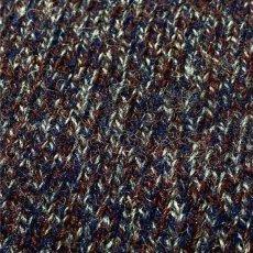 画像14: 「Wool rich(ウール リッチ)」パープル メランジ クルーネック ウール ニット (14)