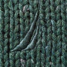 画像6: 「NAUTICA(ノーティカ)」グリーン ハーフボタン ワンポイント刺繍 メランジ ニット (6)