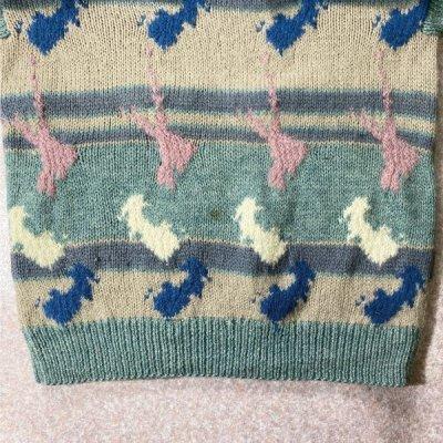 画像3: 「Peterborough Row(ピーターボロー ロウ)」羊柄 クルーネック ニット