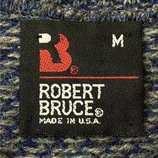 画像6: 「ROBERT BRUCE(ロバート ブルース)」ネイティブ柄 USA製 クルーネック ニット (6)