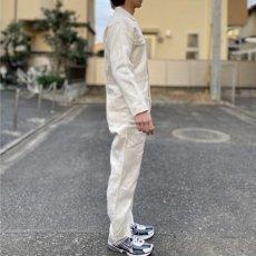 画像18: 「三菱自動車」公式 作業着 ボタンフロント オールインワン つなぎ (18)