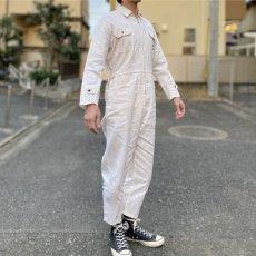 画像17: 「三菱自動車」公式 作業着 ファスナーフロント オールインワン つなぎ (17)