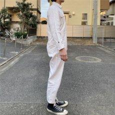 画像18: 「三菱自動車」公式 作業着 ファスナーフロント オールインワン つなぎ (18)