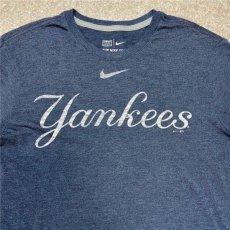 画像3: 「NIKE(ナイキ)」MLB ニューヨークヤンキース NEW YORK YANKEES 杢チャコール Tシャツ (3)