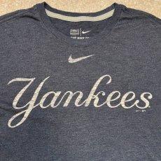画像6: 「NIKE(ナイキ)」MLB ニューヨークヤンキース NEW YORK YANKEES 杢チャコール Tシャツ (6)