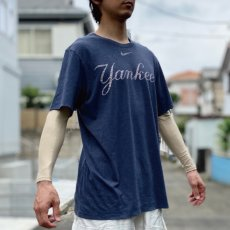 画像17: 「NIKE(ナイキ)」MLB ニューヨークヤンキース NEW YORK YANKEES 杢チャコール Tシャツ (17)