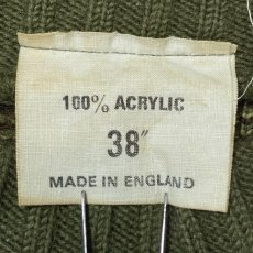 画像6: 「NO BRAND(ノーブランド)」カモフラージュ イングランド製 英国製 アクリル コマンド ニット (6)