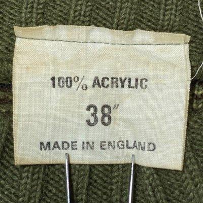 画像3: 「NO BRAND(ノーブランド)」カモフラージュ イングランド製 英国製 アクリル コマンド ニット
